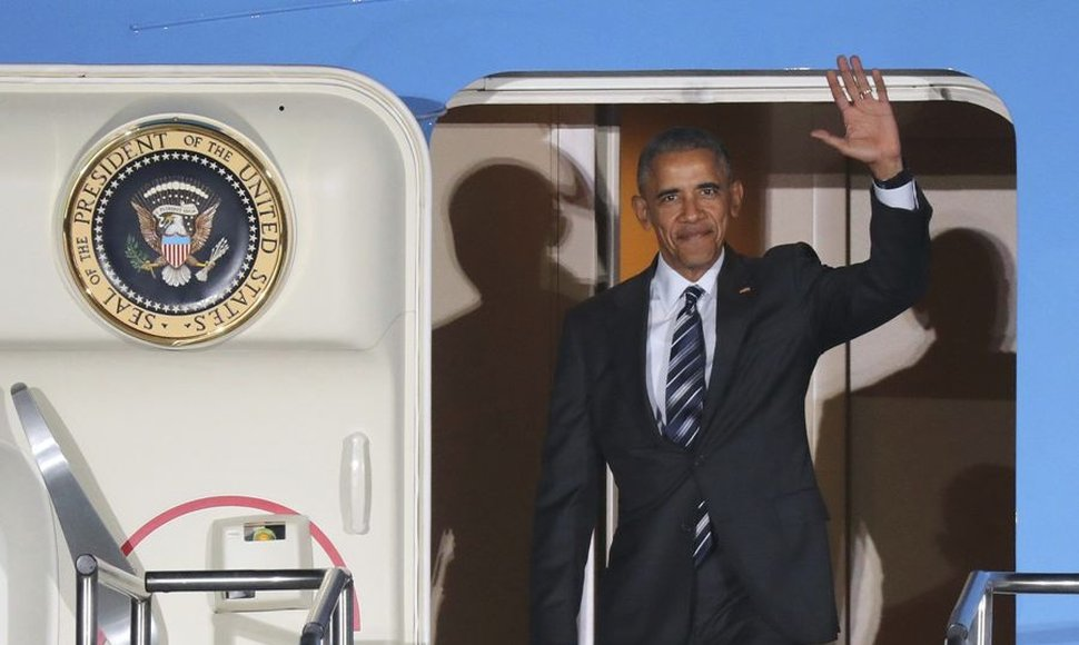 Barack Obama prosigue su gira en Alemania.