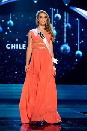 Miss Chile, Ana Luisa König. EFE / END