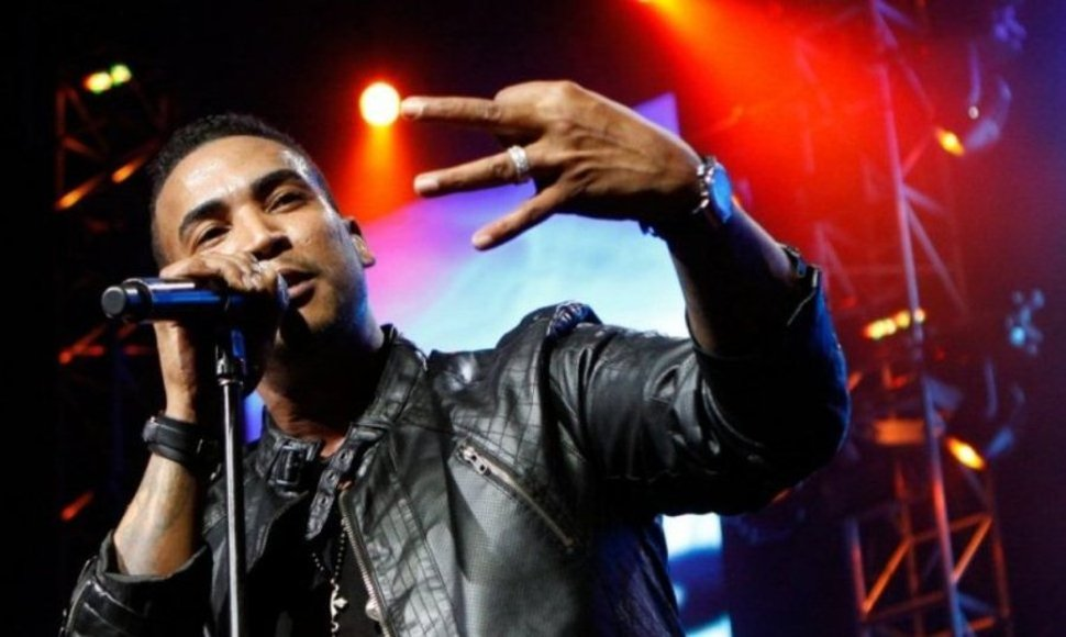 Don Omar, el popular reguetonero.