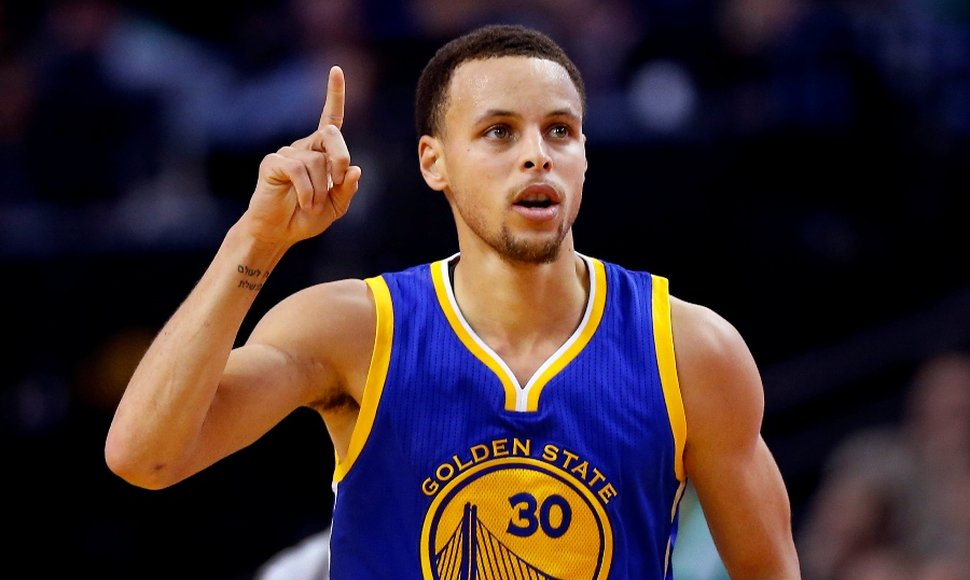 Stephen Curry, figura de los Warriors.