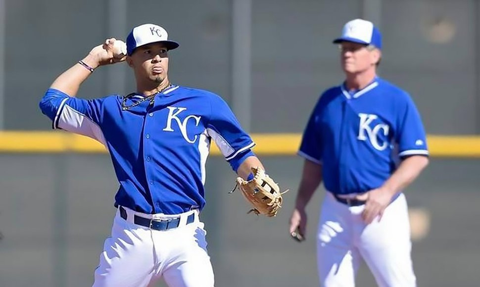 Cheslor Cuthbert y Kansas perdieron este domingo.