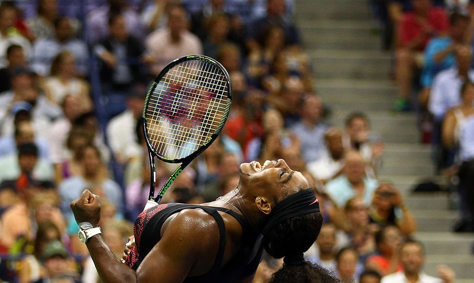 Serena Williams se impuso a su hermana Venus.