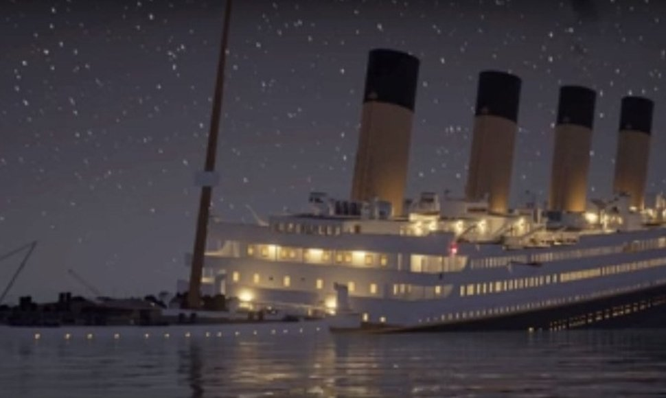 Captura del video de Titanic: Honor and Glory.