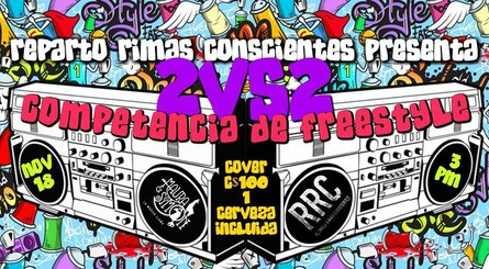 Competencia de Freestyle 2vs2