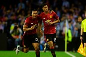 Manchester United gana 1-0 al Celta y se acerca a la final de la Europa League