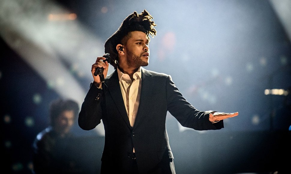 El cantante canadiense The Weeknd.