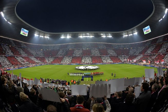 Allianz Arena, estados del Bayern de Múnich. AFP / END