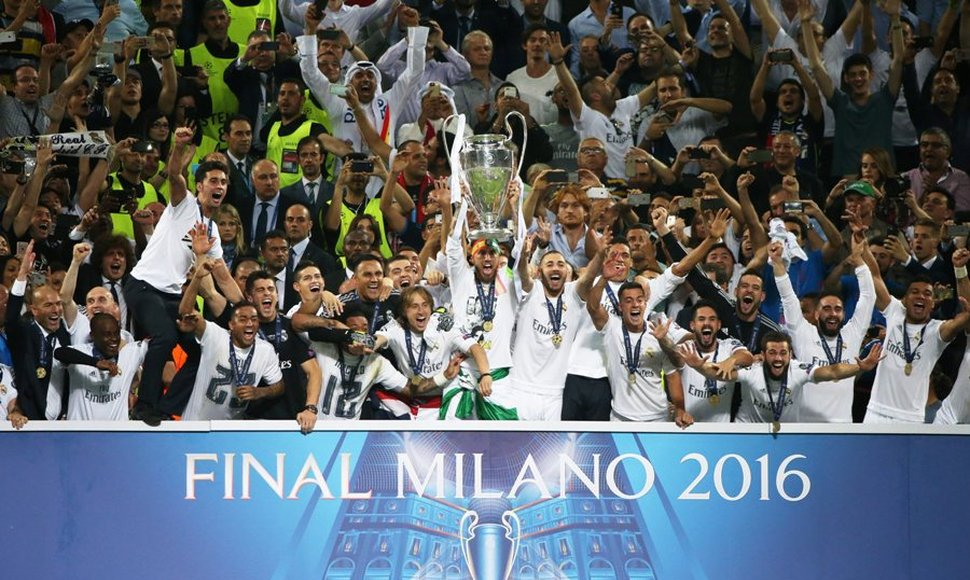 Real Madrid, campeón de la Champions League.