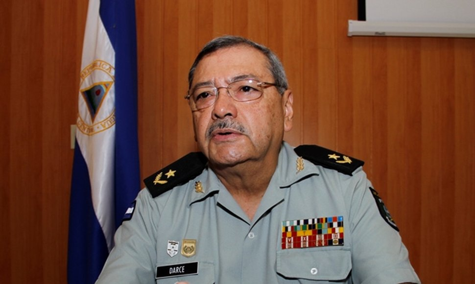 General de brigada Jaime René Darce, director del hospital.