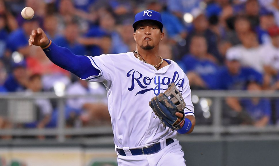 Cheslor Cuthbert despertó anoche contra Boston.