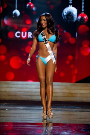Miss Curazao, Monifa Jansen. AFP / END