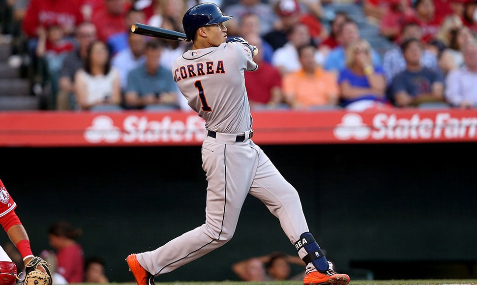 Carlos Correa está destacando con Houston.