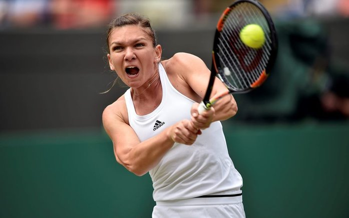 Simona Halep vs Madison Keys.