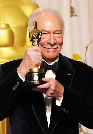 El actor Christopher Plummer, ganador del premio al mejor actor secundario por 'Beginners'. AFP / END
