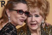 Debbie Reynolds fallece un día después que su hija Carrie Fisher