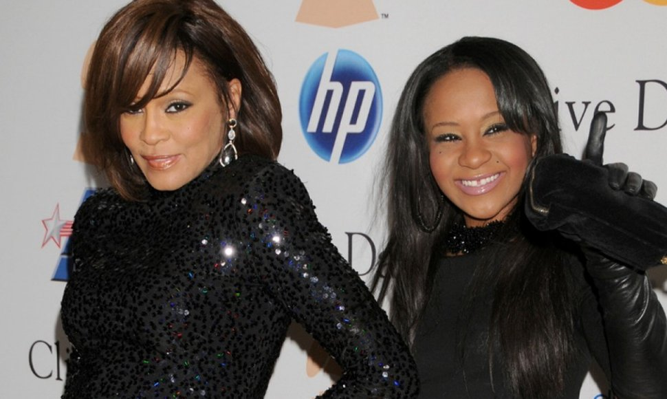 Whitney Houston y Bobbi Kristina Brown.