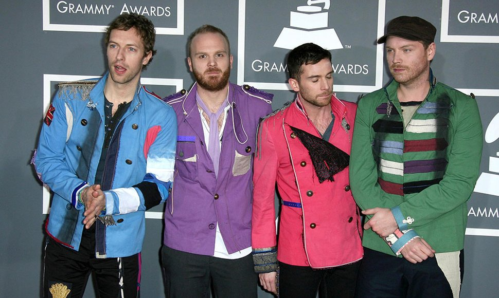 Banda Coldplay.