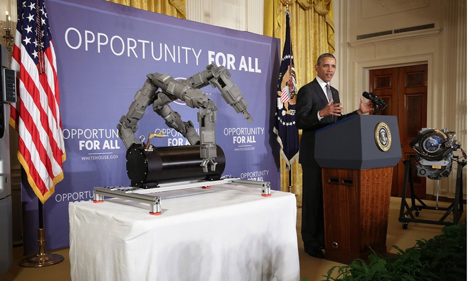 Obama aprobó el nuevo Manufacturing Innovation Institute.