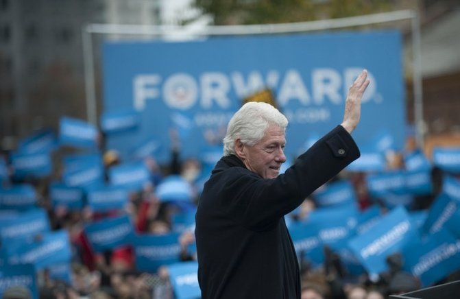 El expresidente Bill Clinton llama a votar por Barack Obama. FOTOS: END/ AFP Y GETTY