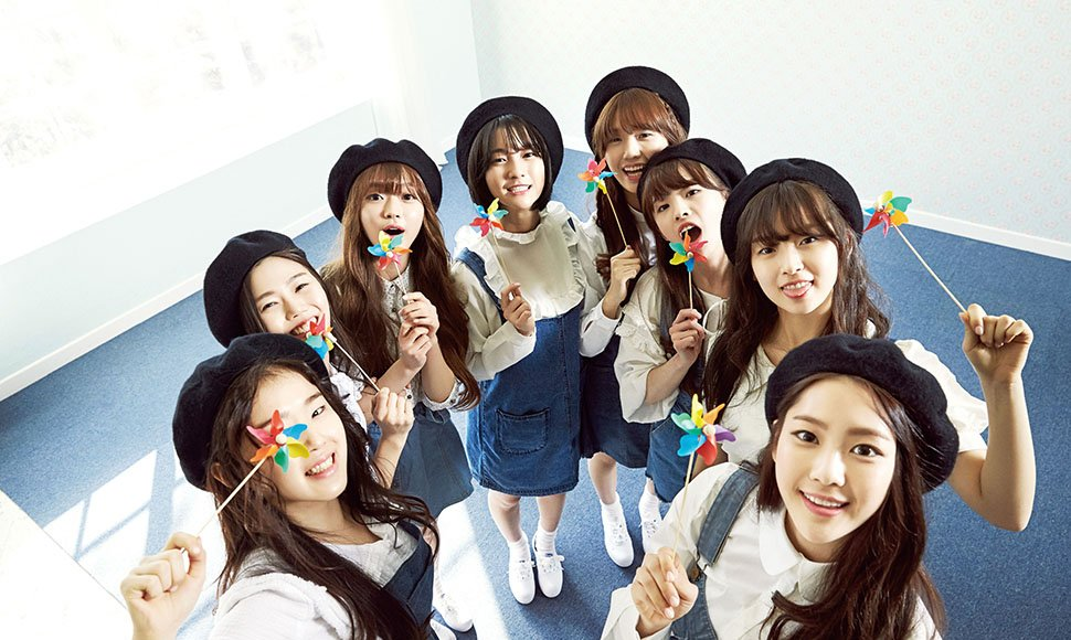 Grupo sucoreano Oh My Girl. Internet / END