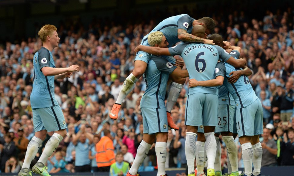El City ganó 3-1 al West Ham