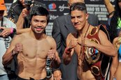 Vargas y Pacquiao chocan