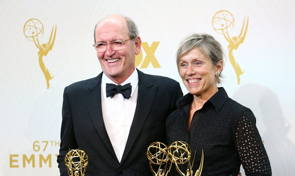Richard Jenkins y Frances McDormand.