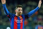 Messi brillante