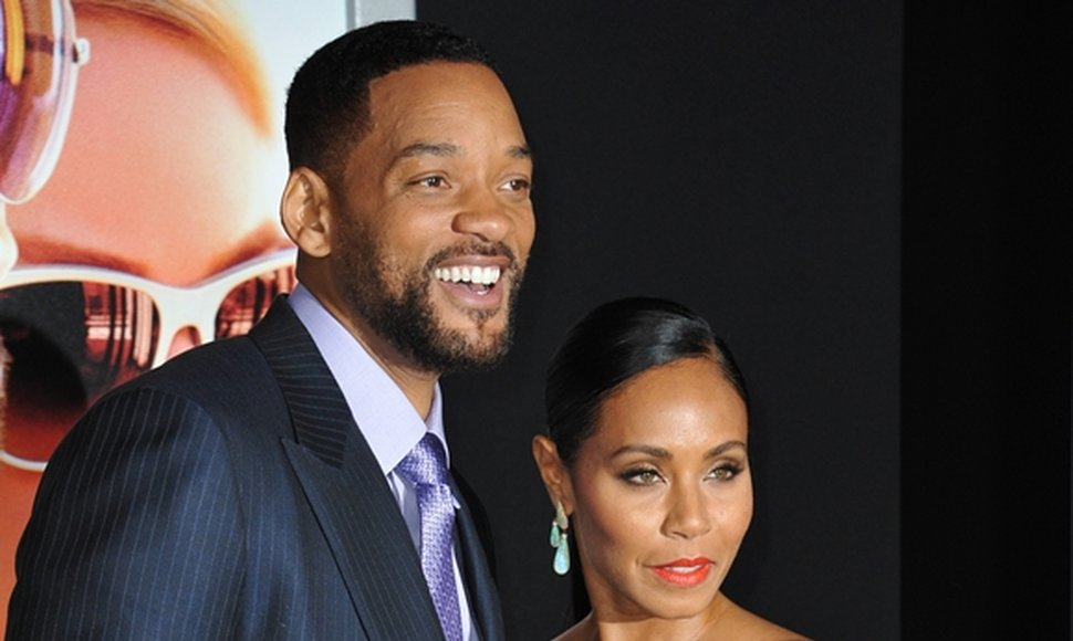 Will Smith y Jada Pinkett Smith.