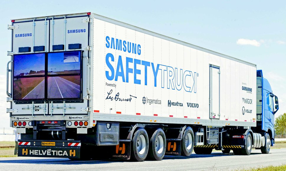Se pretende reducir accidentes con Safety Truck.