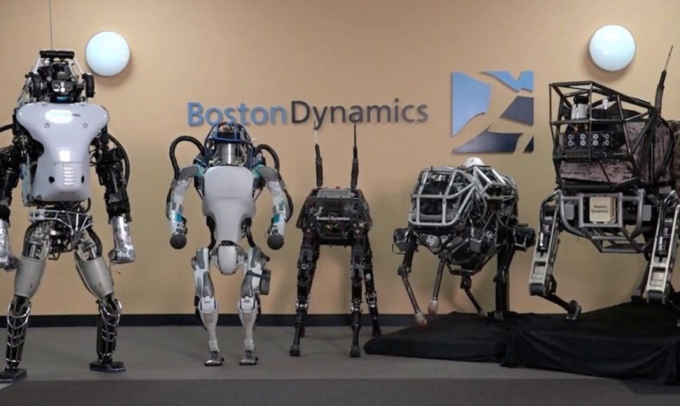 Robots creados por Boston Dynamics.