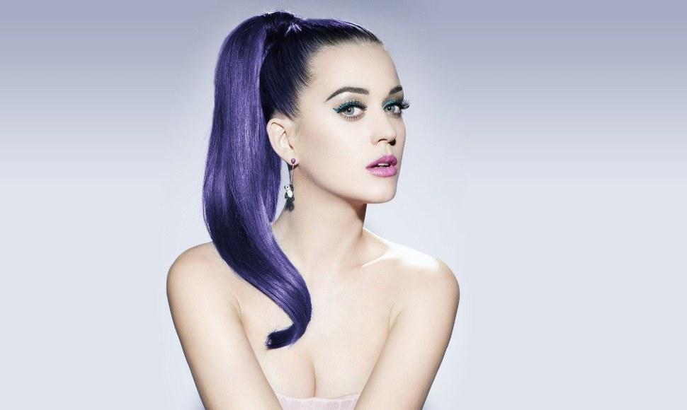 Katy Perry, cantante de música pop.