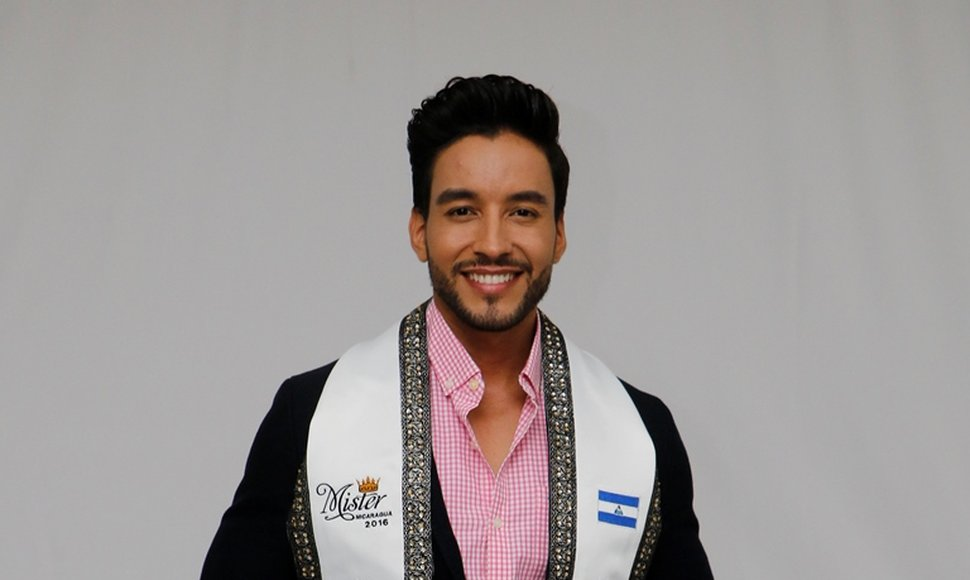 Elvis Murillo, actual Míster Nicaragua.