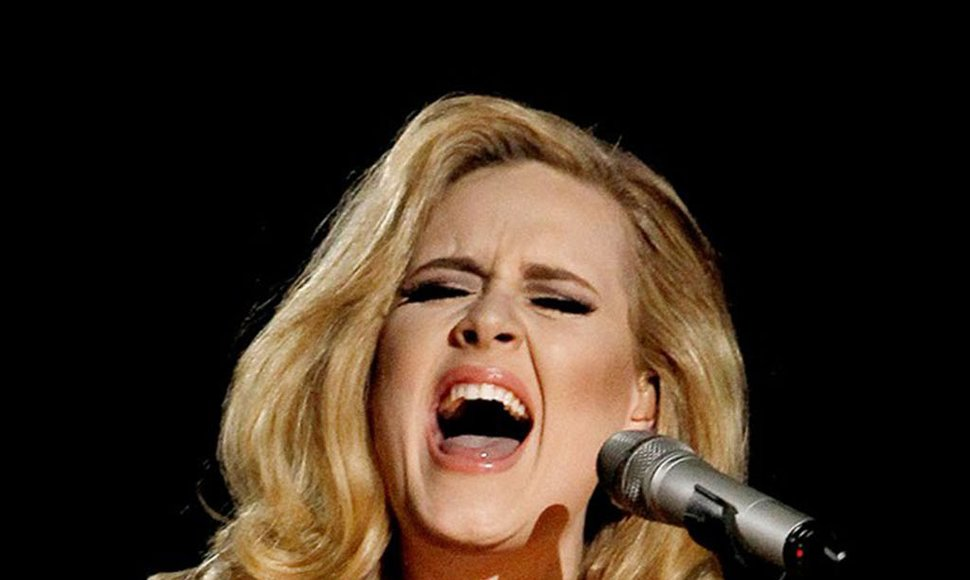 Adele, cantante. INTERNET / END