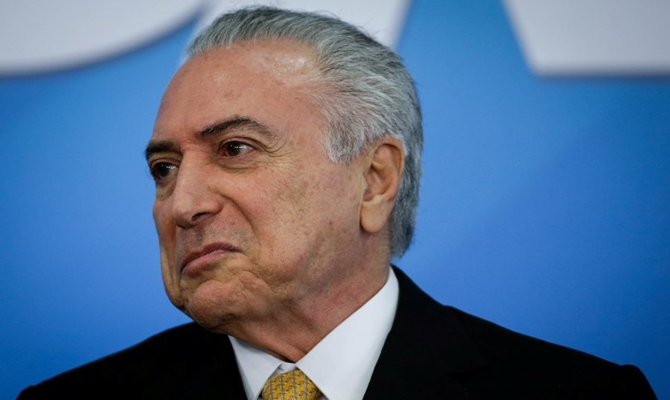 Michel Temer, presidente interino