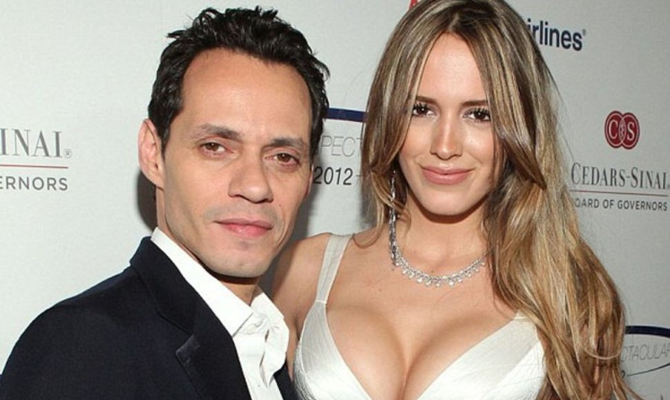 Marc Anthony y Shannon de Lima.