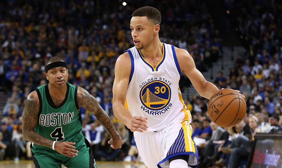Stephen Curry, pieza clave de los Warriors.