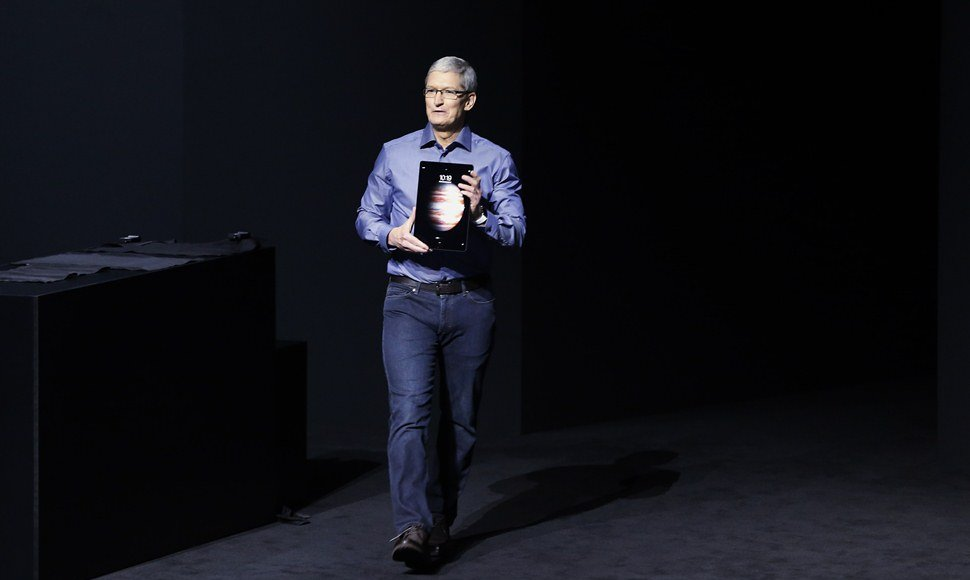 El CEO, Tim Cook.