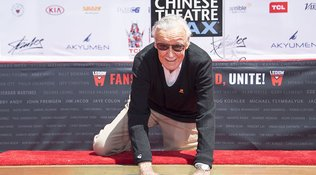 Stan Lee da un paso de gigante en Hollywood