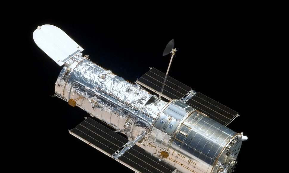 El telescopio Hubble.