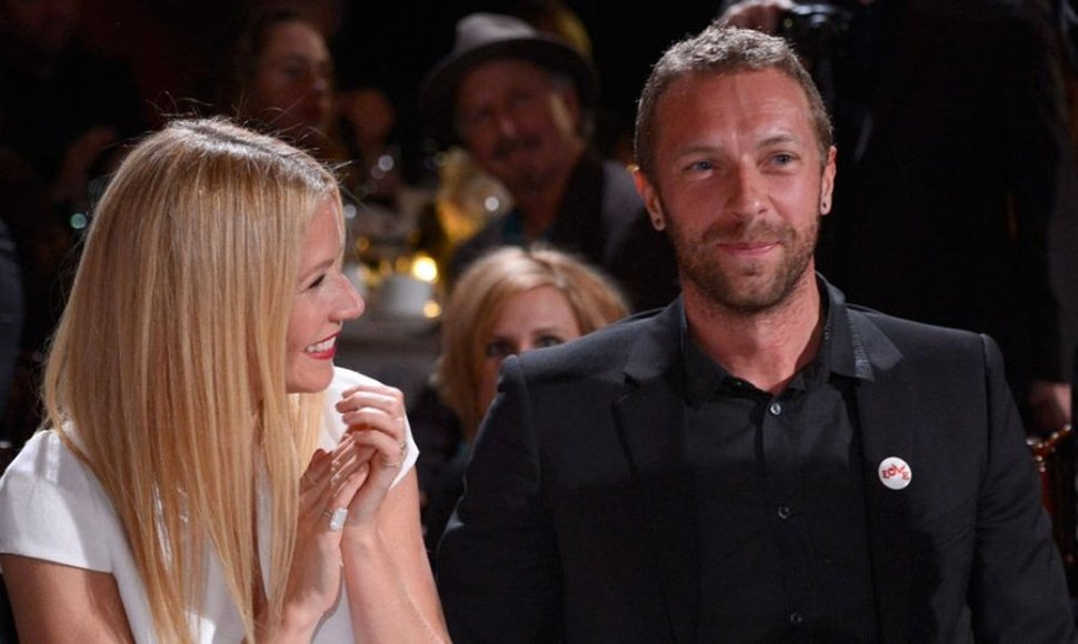 Gwyneth Paltrow y Chris Martin.