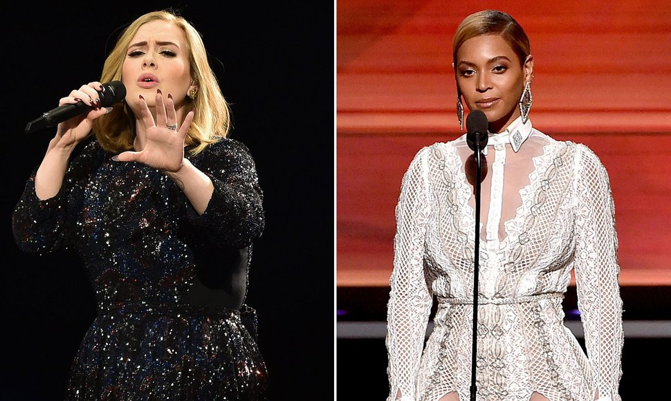 Beyoncé y Adele lideran las nominaciones a los MTV Video Music Awards
