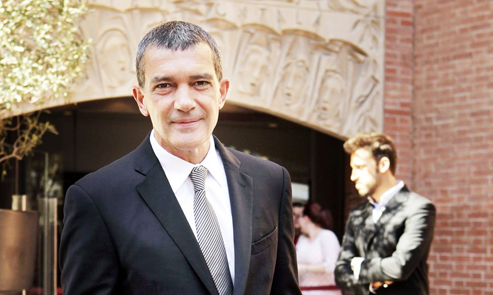 El actor Antonio Banderas.