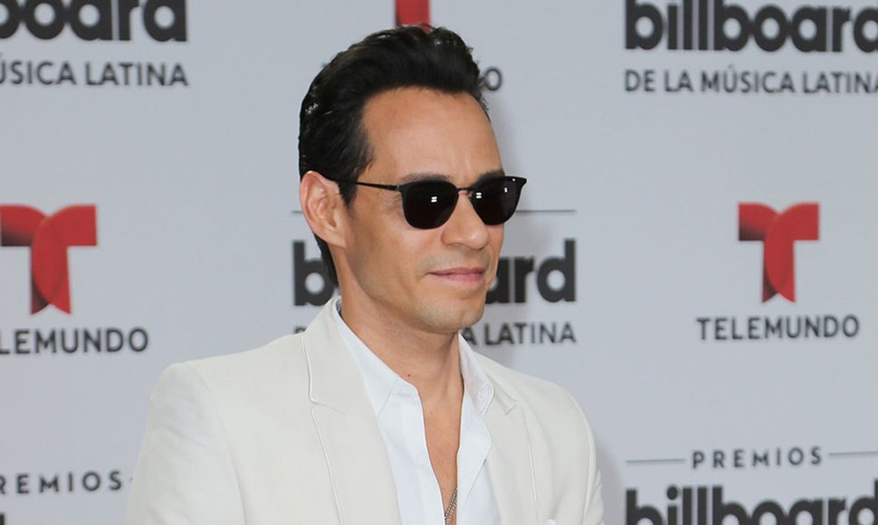 El salsero Marc Anthony