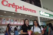 Crêpelovers y Go Green en Galerías Santo Domingo