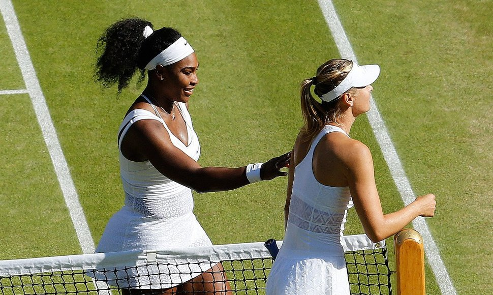Serena Williams y Maria Sharapova