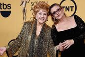 Debbie Reynolds y Carrie Fisher, el fin de una volátil familia de Hollywood