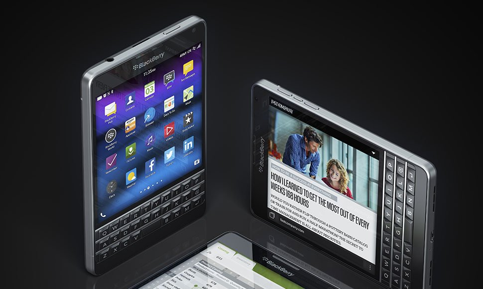 El BlackBerry Passport 2015. Internet / END