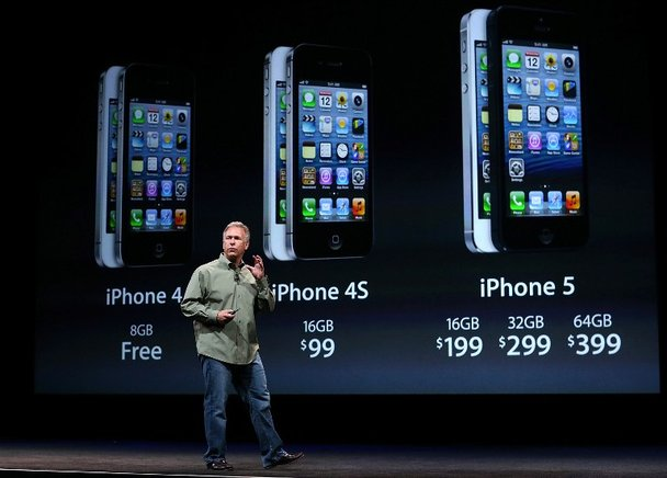 Con salida de iPhone 5 el iPhone 4s costará $99, según se dijo en la conferencia. END/APF/Justin Sullivan