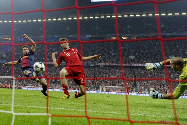 Y con este toque marcó Thomas Muller. AFP / END